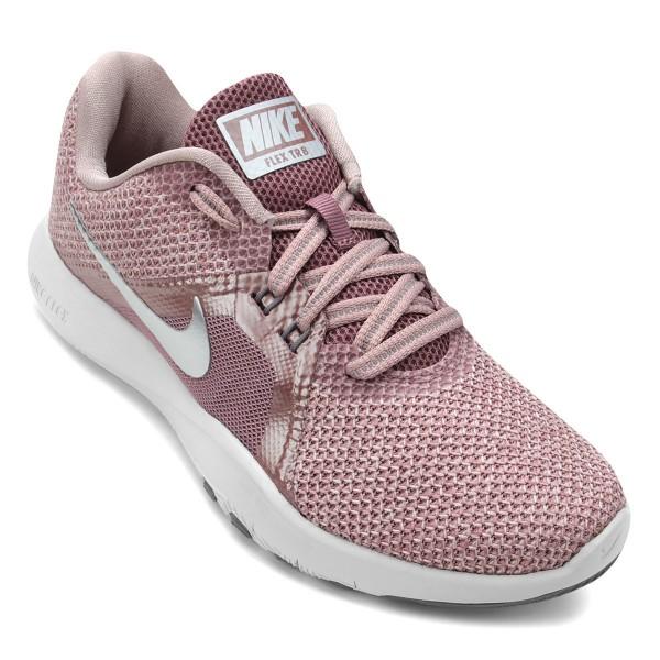 74b723751e Tênis Nike Flex Trainer 8 Premium Rosa Antigo
